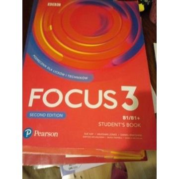 Focus 3  Podręcznik z płytą CD