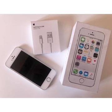 Iphone 5s Silver 16 GB, stan idelany, Okazja!
