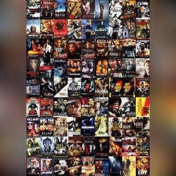 Zestaw filmów - 380 TYTUŁÓW PONAD 400 DVD