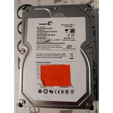 Dysk twardy Seagate 750 GB HDD SATA II 3.5