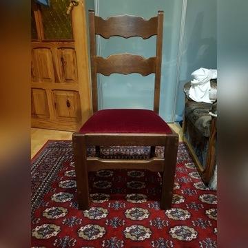 Krzesła z litego Dębu komplet 6 sztuk
