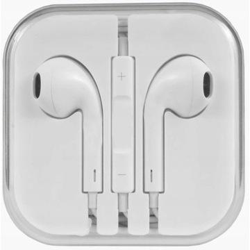 Słuchawki douszne PRZEWODOWE JACK 3.5 mm mikrofon