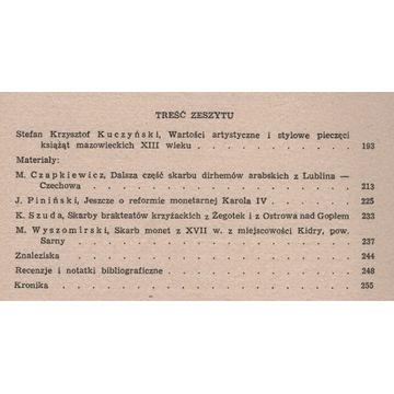 Wiadomości numizmatyczne 54/1970
