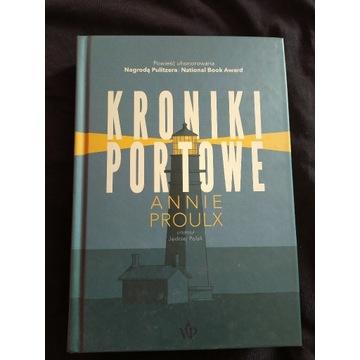 Kroniki portowe Annie Proulx książka nowość