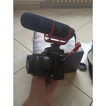 Canon EOS m50 + Mikrofon Rode - OKAZJA!