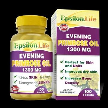 Olej z nasion wiesiołka 1300 mg 100 kaps