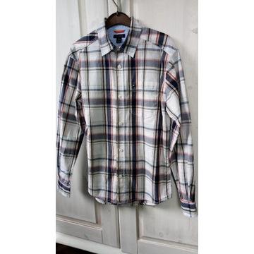Koszula kratka 100% bawełna TOMMY HILFIGER 8-10lat