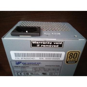 Zasilacz do PC, moc 250W, FORTRON FSP250-60SBV TFX