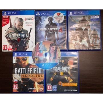 6GIER na Playstation 4: Widzmin 3, GTA 5 i inne <<