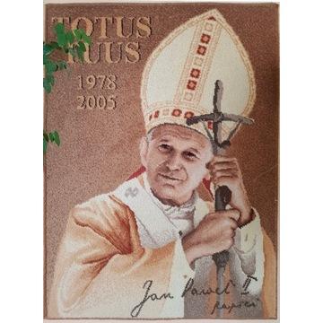 Arras gobelin kilim obraz ścienny Jan Paweł II