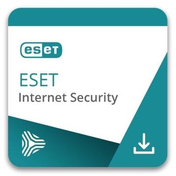 Eset Internet Security 1ROK 2PC NOWY KLUCZ 2021