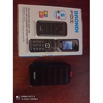 Telefon z klapką duże klawisze dla seniora