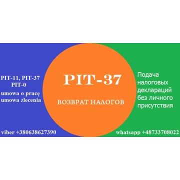 Zwrot PIT-11 PIT-37