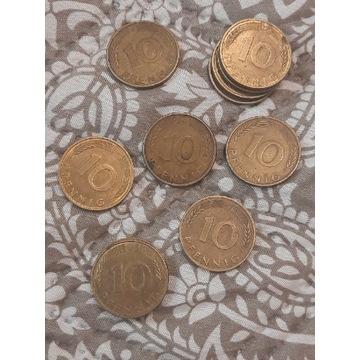 Moneta 10 pfening niemiecka
