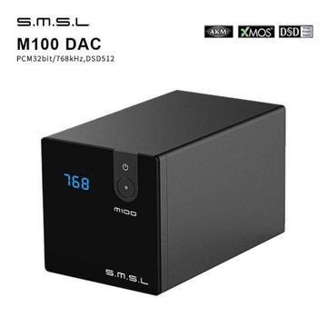 Hi-End SMSL m100 DAC 32Bit/768kHz