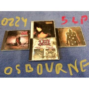 OZZY OSBOURNE 4 płyty CD komplet 5 LP