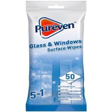 Pureven chusteczki czyszczenia okien lustra szkła