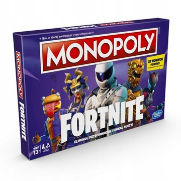 MONOPOLY Fortnite 2.0 NOWE