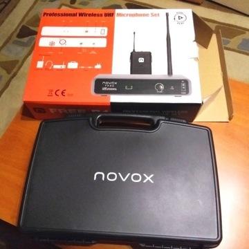 NOVOX FREE B1 SYSTEM BEZPRZEWODOWY mikrofon-zestaw