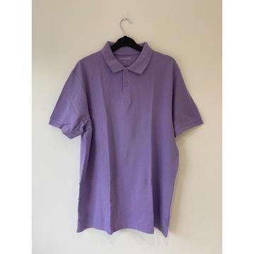 PRIMARK koszulka bluzka polo fioletowa XL NOWA*194