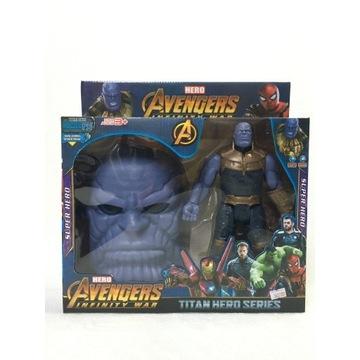 Thanos figurka maska zestaw Avengers prezent