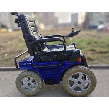 Elektryczny terenowy wózek inwalidzki INVACARE G40