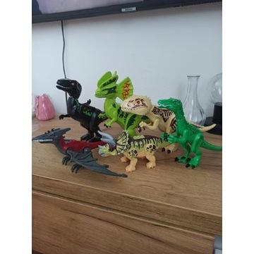 Lego dinozaur jurassic World zestaw dinozaury