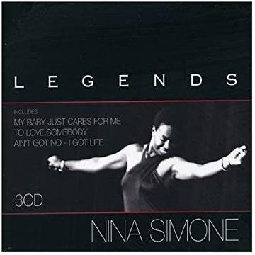 Nina Simone Legends zestaw 3 płyt CD