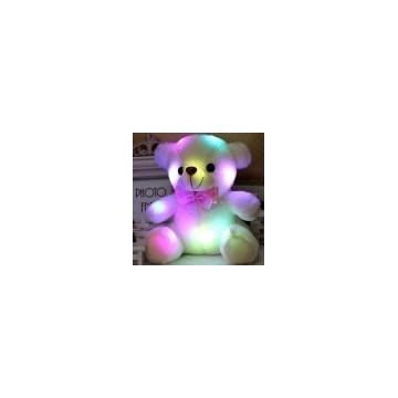 Świecący miś LED