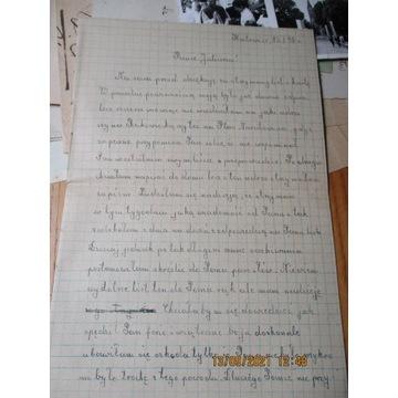 list KATOWICE 15 I 1948 r.