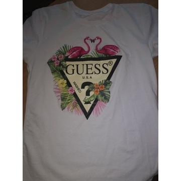 Koszulka Guess Biała