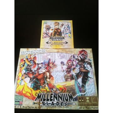 Millennium Blades z dodatkiem Set rotation