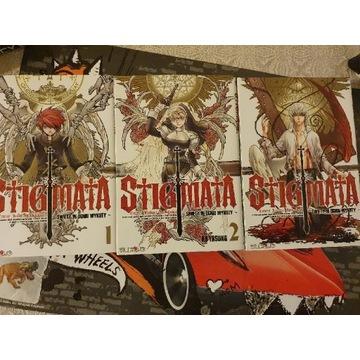 Manga Stigmata tomy 1-3