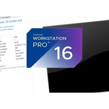 VMware Workstation Pro 16 WIECZYSTA