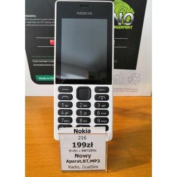Nokia 216 Nowa +gratisy