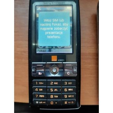 Sony Ericsson k800i- dwie sztuki. Cena za całość