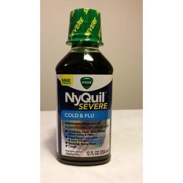 Syrop Vicks NyQuil COLD&FLU przeziębienie