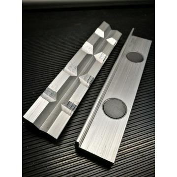 Aluminiowe szczęki ochronne do imadła 150mm