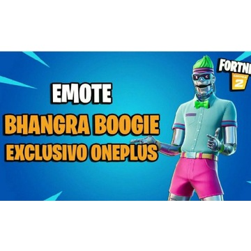 Bhangra Boogie Fortnite Dance Emotka Skin Taniec