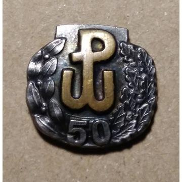 Odznaka AK Armia Krajowa 50. rocznica powstanie