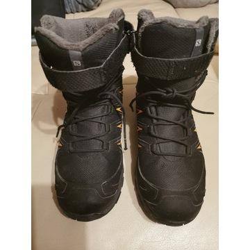 Buty zimowe chłopięce rozmiar 38