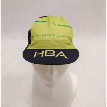Czapeczka kolarska HBA green stripes