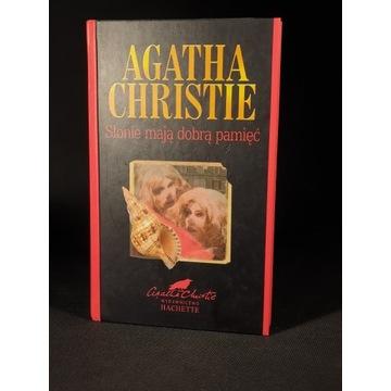"""Agatha Christie """"Słonie mają dobrą pamięć"""""""