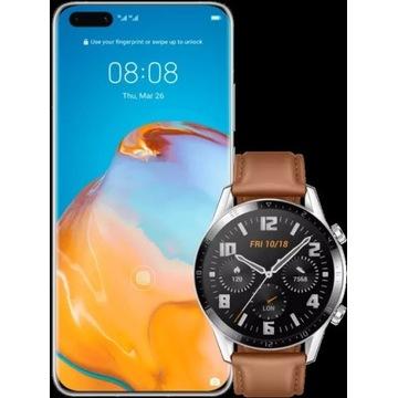 Huawei P40 pro+ Watch GT 2