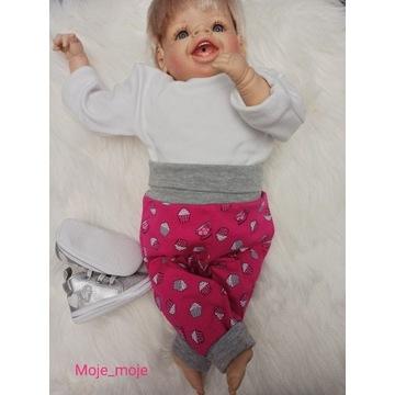 Legginsy spodnie handmade