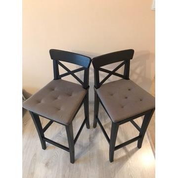 INGOLF stołek barowy z oparciem