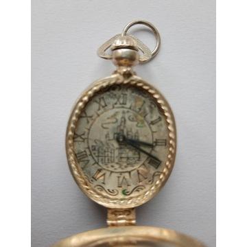 Zegarek wisior srebro