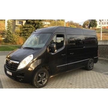 Opel Movano BiTurbo 165KM, Niski przebieg,6 miejsc