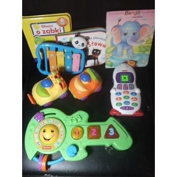 Fischer Price zestaw interaktywnych zabawek