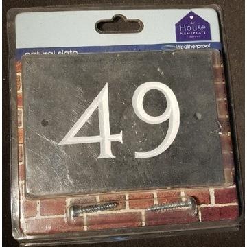 Szyld nr domu 49
